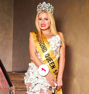 Победительница Miss Diamond Spring 2016 Лорена Сарбу